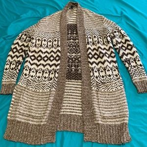American eagle chunky knit cardigan